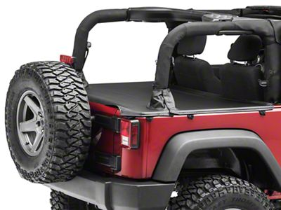 MasterTop Tonneau Cover - Black Diamond (07-18 Jeep Wrangler JK 2 Door)