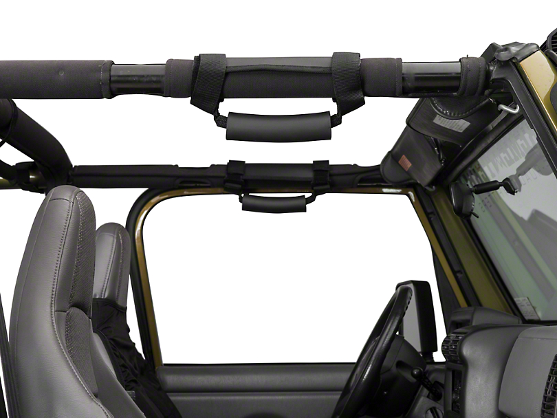 Rugged Ridge Deluxe Interior Kit (87-06 Jeep Wrangler YJ & TJ)
