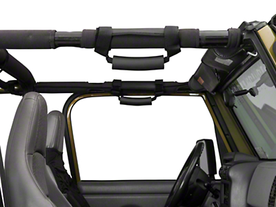 Rugged Ridge Deluxe Interior Kit (87-06 Wrangler YJ & TJ)