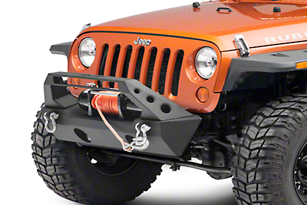 DV8 Off-Road Stubby Front Bumper (07-18 Jeep Wrangler JK)