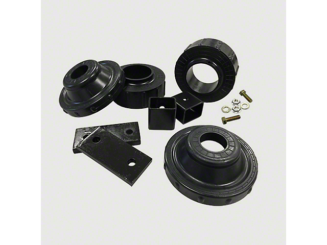 Ground Force 1.75-Inch Front / 0.75-Inch Rear Leveling Kit (07-18 Jeep Wrangler JK)