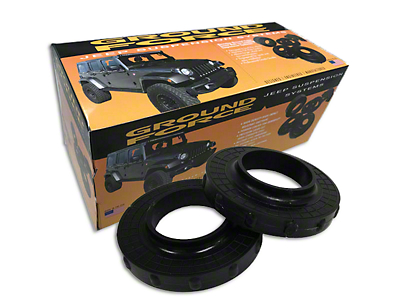 Ground Force 0.75 inch Front Leveling Kit (07-18 Jeep Wrangler JK)