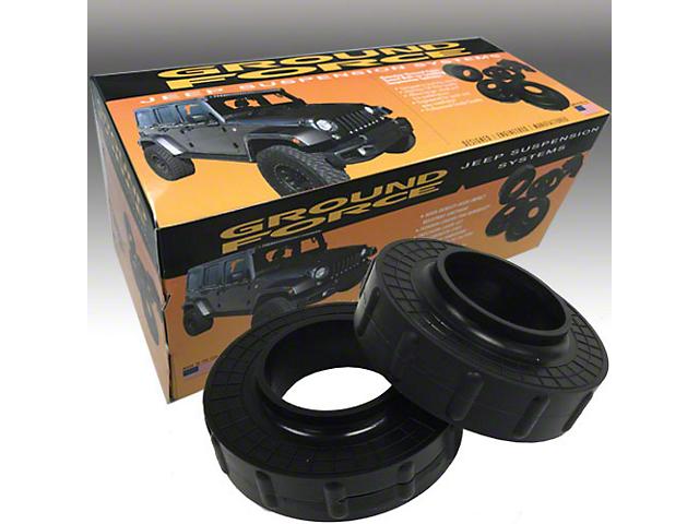 Ground Force 1.25-Inch Front Leveling Kit (07-18 Jeep Wrangler JK)
