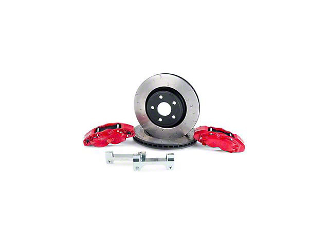 Alcon Military Grade Brake Upgrade Kit; Front (07-18 Jeep Wrangler JK)