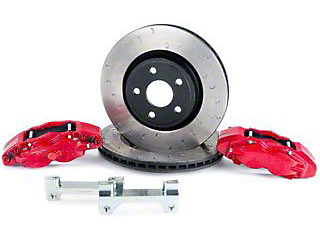 Alcon Military Grade Front Brake Upgrade Kit (07-18 Wrangler JK)