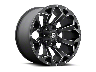 Fuel Wheels Assault Matte Black Milled Wheel - 15x8 (87-06 Jeep Wrangler YJ & TJ)