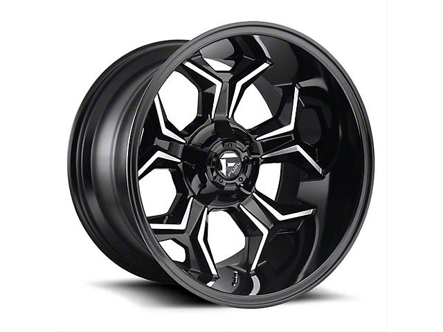 Fuel Wheels Avenger Gloss Black Machined Wheel - 20x12 (97-06 Jeep Wrangler TJ)