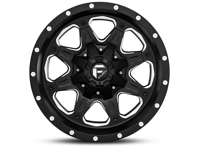 Fuel Wheels Boost Black Milled Wheel - 18x9 (97-06 Jeep Wrangler TJ)