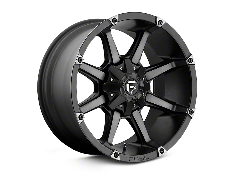Fuel Wheels Coupler Black Machined Wheel - 20x9 (97-06 Jeep Wrangler TJ)