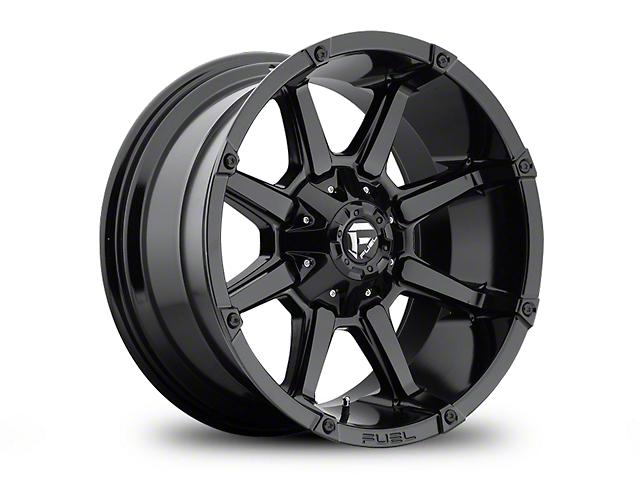Fuel Wheels Coupler Gloss Black Wheel - 20x10 (97-06 Jeep Wrangler TJ)