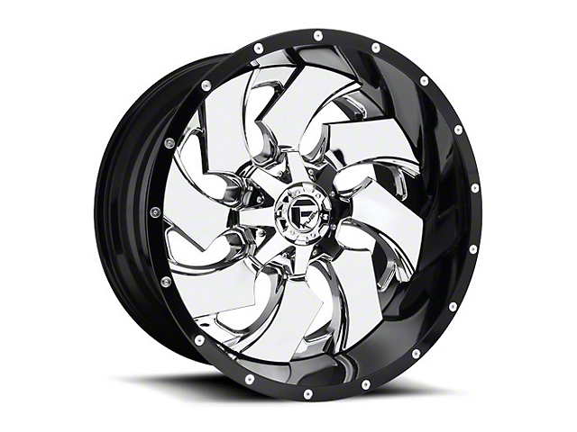 Fuel Wheels Cleaver Chrome Wheel - 20x10 (97-06 Jeep Wrangler TJ)