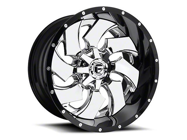 Fuel Wheels Cleaver Chrome Wheel; 22x12 (97-06 Jeep Wrangler TJ)