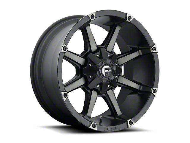 Fuel Wheels Coupler Matte Black Machined Wheel - 18x9 (97-06 Jeep Wrangler TJ)