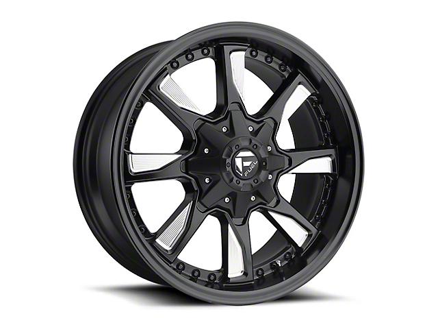 Fuel Wheels Hydro Matte Black Milled Wheel - 18x9 (97-06 Jeep Wrangler TJ)