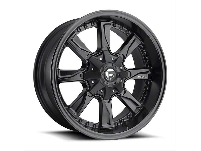Fuel Wheels Hydro Matte Black Wheel - 20x9 (97-06 Jeep Wrangler TJ)