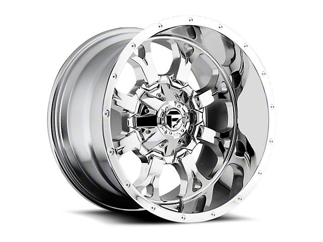 Fuel Wheels Krank Chrome Wheel - 18x9 (97-06 Jeep Wrangler TJ)
