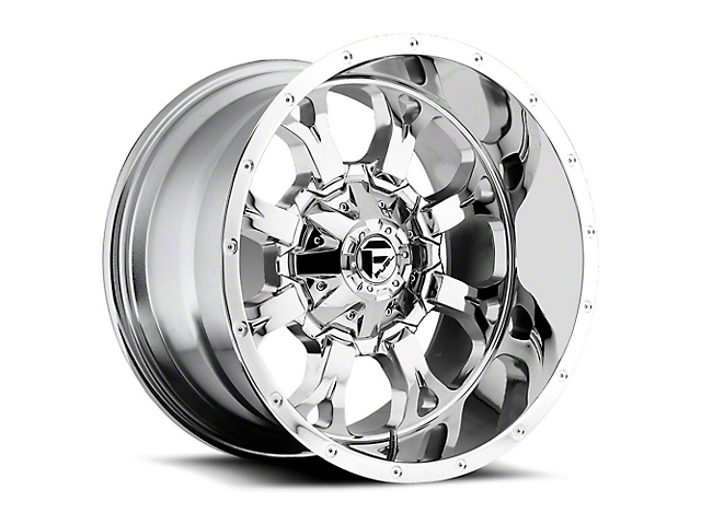 Fuel Wheels Krank Chrome Wheel - 20x12 (97-06 Jeep Wrangler TJ)