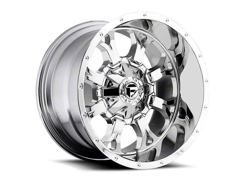 Fuel Wheels Krank Chrome Wheel - 20x9 (97-06 Jeep Wrangler TJ)