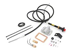 Alloy USA Differential Cable Lock Kit w/ Front D30 Axle (87-95 Jeep Wrangler YJ)