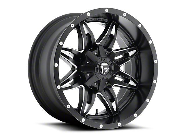 Fuel Wheels Lethal Black Milled Wheel - 20x12 (97-06 Jeep Wrangler TJ)