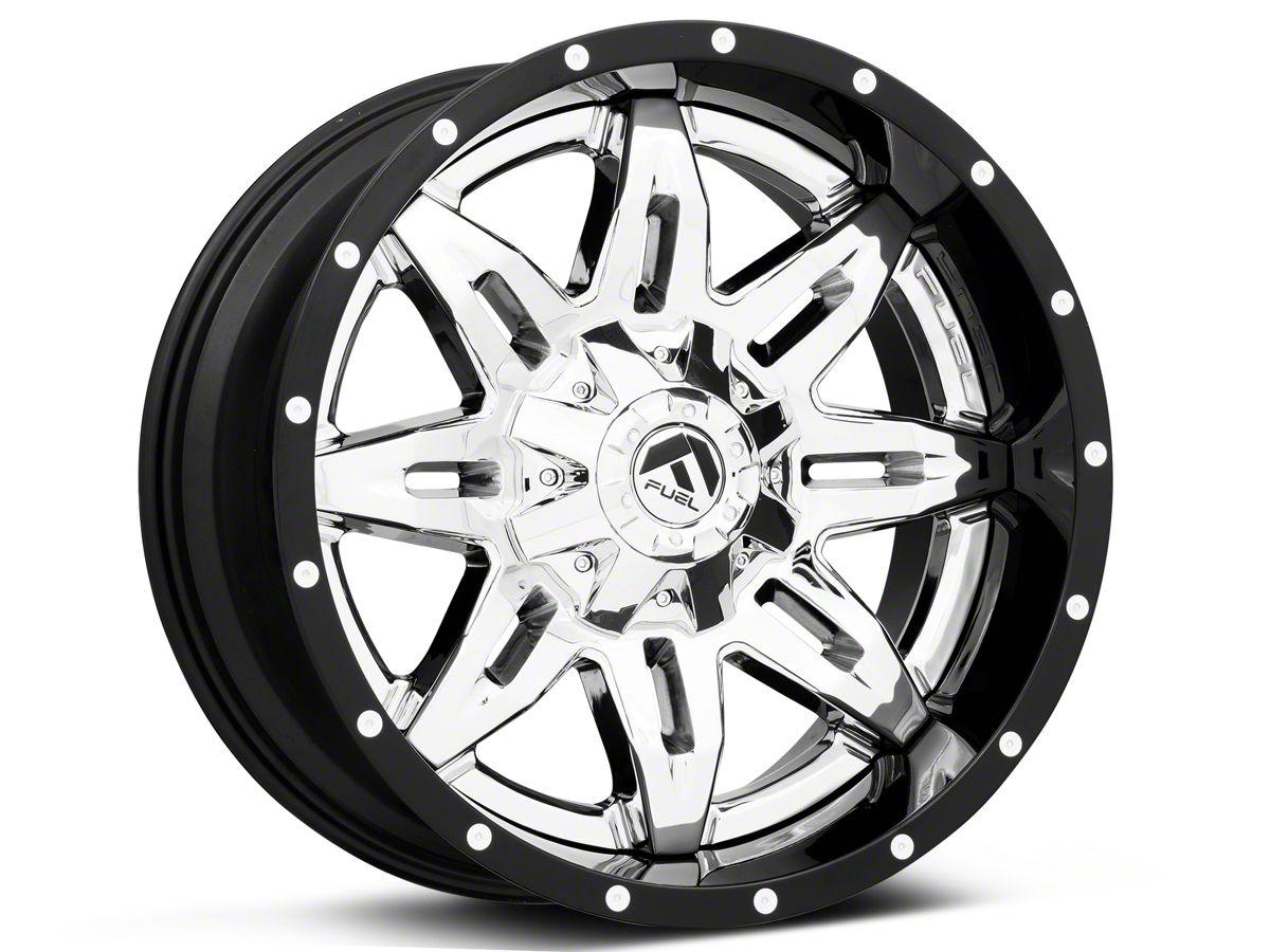 1-20 Inch Black Wheels Rims LIFTED Jeep Wrangler JK 2007-2018 XD Series 20x10