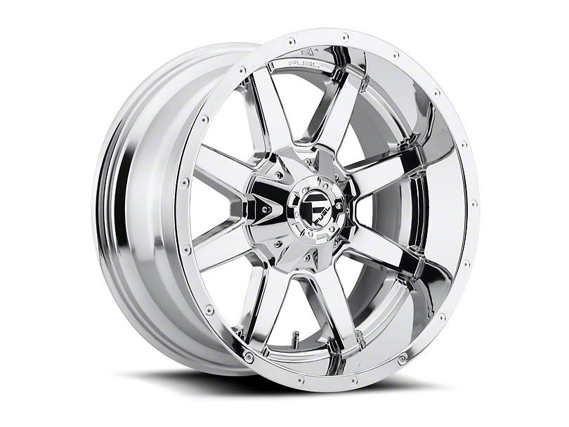 Fuel Wheels Maverick Chrome Wheel - 20x12 (97-06 Jeep Wrangler TJ)
