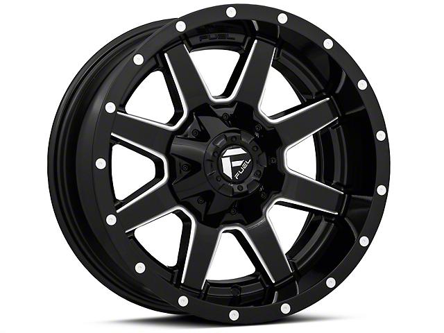 Fuel Wheels Maverick Gloss Black Milled Wheel - 18x9 (97-06 Jeep Wrangler TJ)