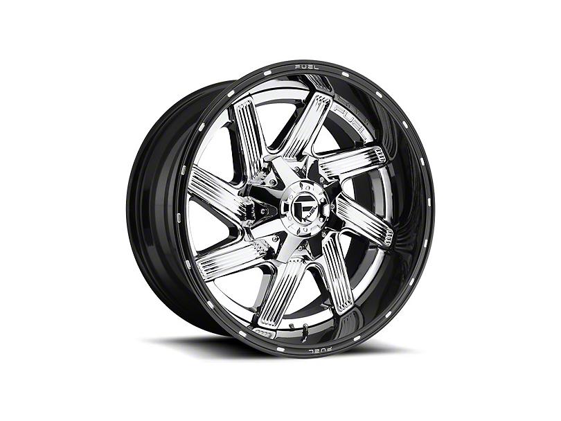 Fuel Wheels Moab Chrome Wheel - 20x10 (87-06 Jeep Wrangler YJ & TJ)