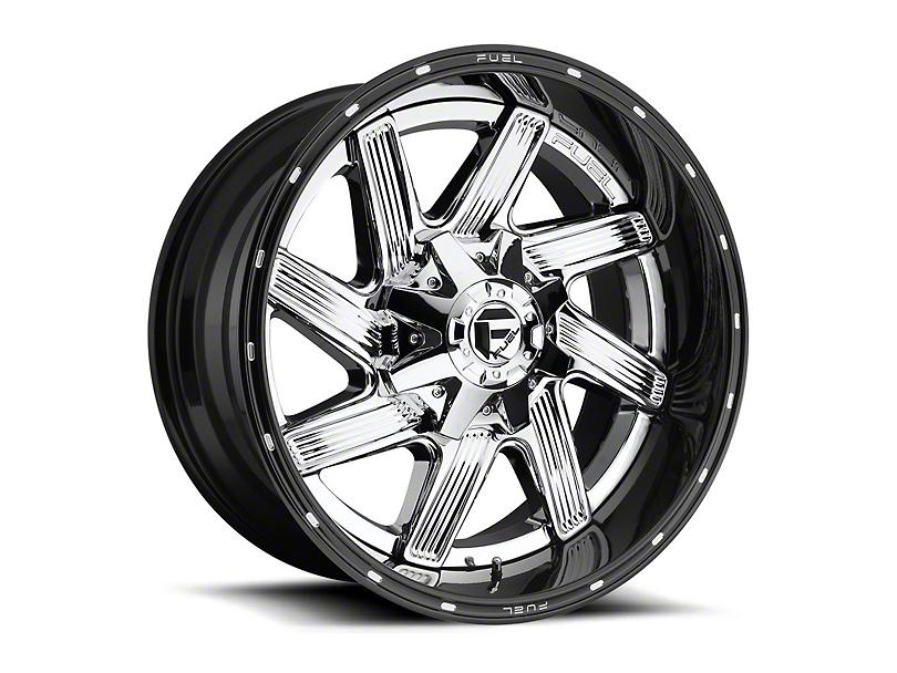 Fuel Wheels Moab Chrome Wheel - 22x10 (87-06 Jeep Wrangler YJ & TJ)