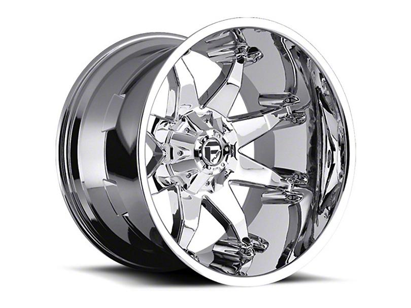Fuel Wheels Octane Chrome Wheel - 18x9 (87-06 Jeep Wrangler YJ & TJ)