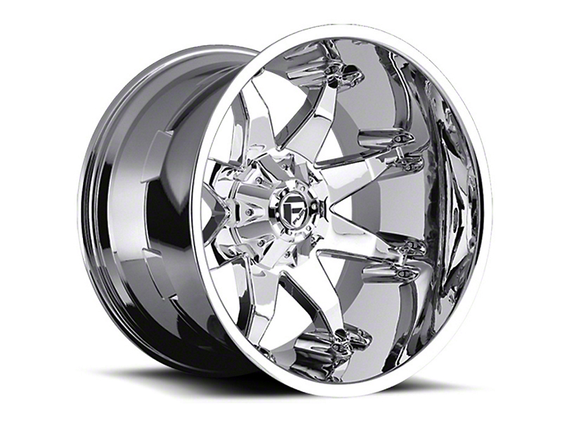Fuel Wheels Octane Chrome Wheel - 20x12 (87-06 Jeep Wrangler YJ & TJ)