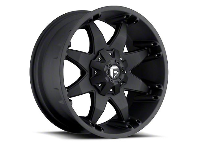 Fuel Wheels Octane Matte Black Wheel - 20x12 (97-06 Jeep Wrangler TJ)