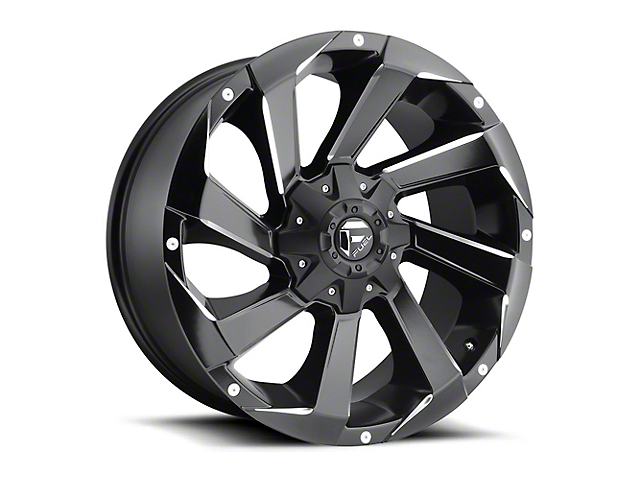 Fuel Wheels Razor Matte Black Milled Wheel - 18x9 (97-06 Jeep Wrangler TJ)