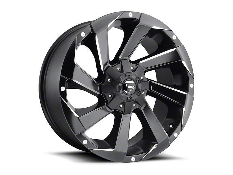 Fuel Wheels Razor Matte Black Milled Wheel - 20x9 (97-06 Jeep Wrangler TJ)