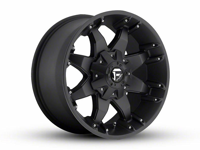 Fuel Wheels Octane Matte Black Wheel - 18x9 (97-06 Jeep Wrangler TJ)