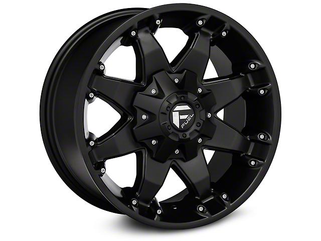 Fuel Wheels Octane Matte Black Wheel - 20x9 (97-06 Jeep Wrangler TJ)