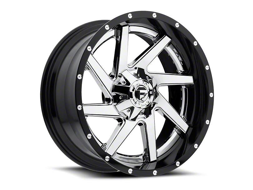 Fuel Wheels Renegade Chrome Wheel - 20x10 (87-06 Jeep Wrangler YJ & TJ)