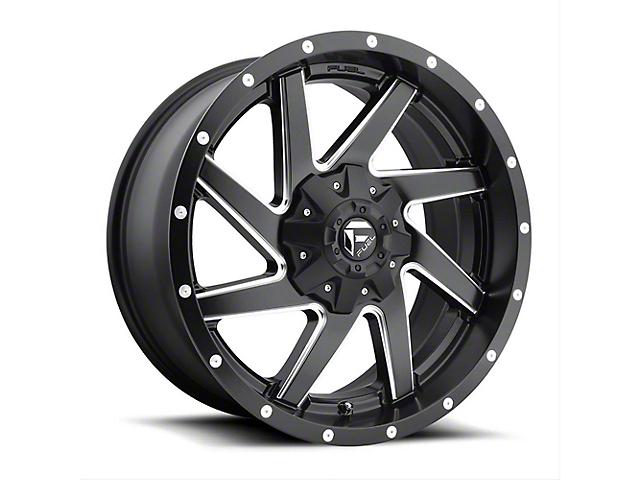 Fuel Wheels Renegade Matte Black Milled Wheel - 20x9 (97-06 Jeep Wrangler TJ)