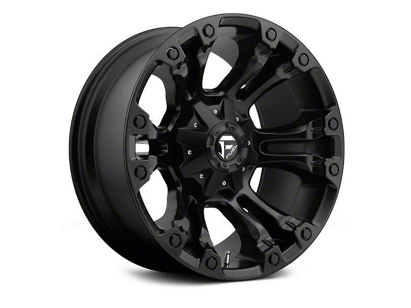 Fuel Wheels Vapor Matte Black Wheel - 20x12 (97-06 Jeep Wrangler TJ)