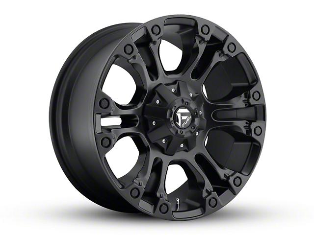 Fuel Wheels Vapor Matte Black Wheel - 20x9 (97-06 Jeep Wrangler TJ)