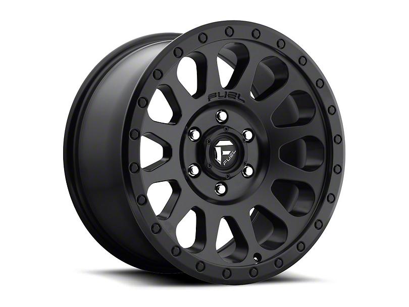 Fuel Wheels Vector Matte Black Wheel - 16x8 (87-95 Jeep Wrangler YJ)
