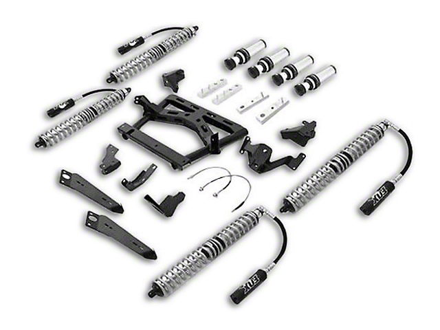 Rubicon Express Jeep Wrangler Front/Rear Coilover Upgrade