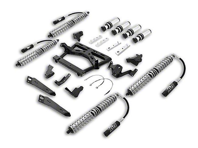 Rubicon Express Front/Rear Coilover Upgrade Kit w/ Air Bumps (07-18 Jeep Wrangler JK 4 Door)