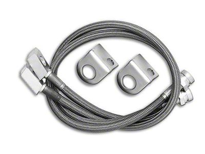 rubicon express jeep wrangler front stainless steel brake lines for 3 Inch Lift Jeep Wrangler rubicon express front stainless steel brake lines for 4 5 in lift 97 06 jeep wrangler tj