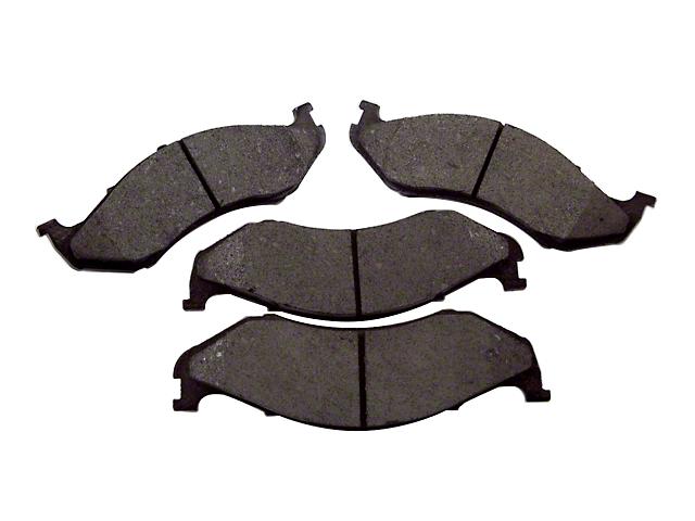 Titanium Brake Pads; Front Pair (90-06 Jeep Wrangler YJ & TJ)