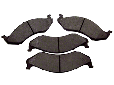 Omix-ADA Titanium Disc Brake Pads - Front Pair (90-06 Jeep Wrangler YJ & TJ)