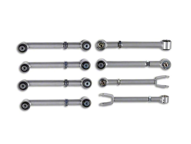 Rubicon Express Super-Ride Adjustable Upper & Adjustable Lower Control Arm Kit (97-06 Jeep Wrangler TJ)