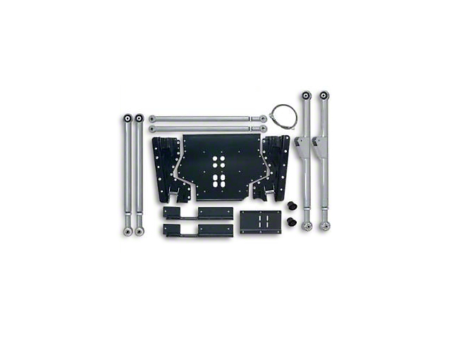Rubicon Express Extreme-Duty Long Arm Suspension Upgrade Lift Kit (97-02 Jeep Wrangler TJ)