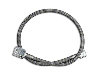 Rubicon Express Rear Stainless Steel Brake Lines for 2.5-5.5 in. Lift (87-95 Jeep Wrangler YJ)