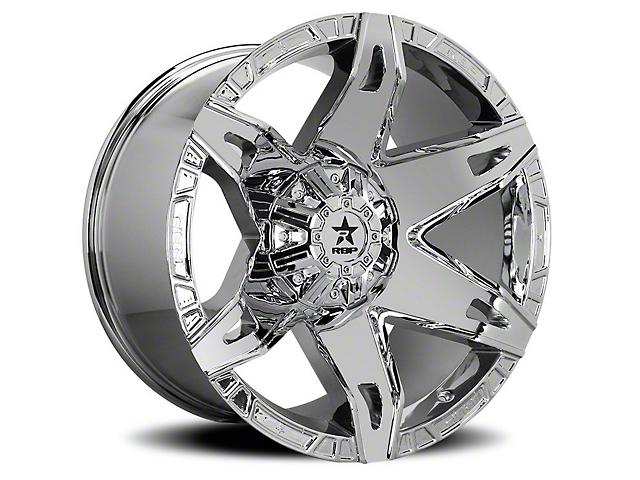 RBP 70R Quantum Chrome Wheel - 20x12 (87-06 Jeep Wrangler YJ & TJ)